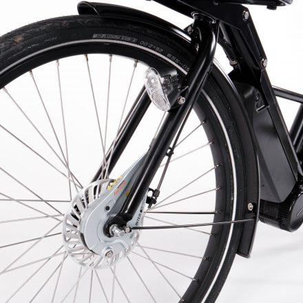 Ausgeklügeltes System für Reifenwechsel ohne Demontage des Hinterrades